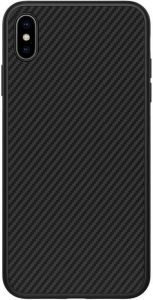 Чехол для iPhone XS Max (6.5'') Nillkin Synthetic Fiber series Black