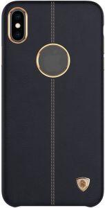 Кожаный чехол для iPhone XS Max (6.5'') Nillkin Englon Series Black