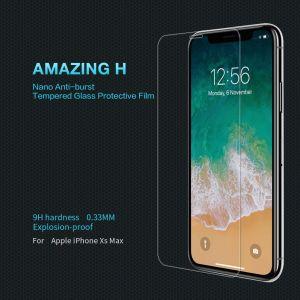 Защитное стекло для iPhone XS Max (6.5'') Nillkin Anti-Explosion Glass (H)