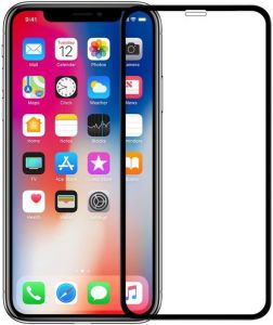 Защитное 3D-стекло для iPhone XS Max (6.5'') Nillkin Anti-Explosion Glass Screen Black (CP+ max XD)