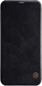 Кожаный чехол (книжка) Nillkin Qin Series для Samsung J610 Galaxy J6+ (2018) Черный
