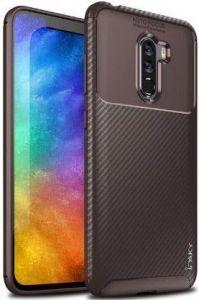 Чехол iPaky Kaisy Series для Xiaomi Pocophone F1 Коричневый