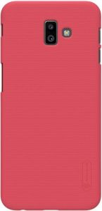 Чехол Nillkin Super Frosted Shield для Samsung J610 Galaxy J6+ (2018) Красный