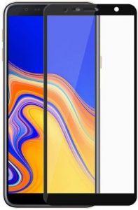 Защитное стекло для Samsung Galaxy J6+ (2018) Mocolo (full glue) на весь экран Черное