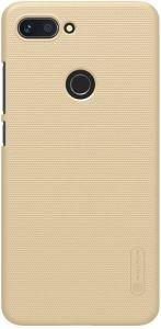Чехол для Xiaomi Mi 8 Lite / Mi 8 Youth (Mi 8X) Nillkin Super Frosted Shield Золотой