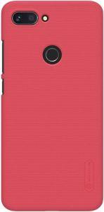 Чехол для Xiaomi Mi 8 Lite / Mi 8 Youth (Mi 8X) Nillkin Super Frosted Shield Красный