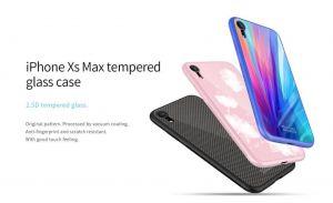 Подарочный набор (чехол + беспроводное ЗУ + кабель 3в1) для iPhone XR (6.1'') Nillkin Fancy Pink