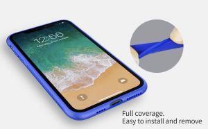 Подарочный набор (чехол + беспроводное ЗУ + кабель 3в1) для iPhone XS Max (6.5'') Nillkin Fancy Pink