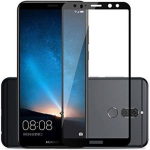 Защитное стекло для Huawei Mate 10 Lite Mocolo (full glue) на весь экран Черное