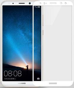 Защитное стекло для Huawei Mate 10 Lite Mocolo (full glue) на весь экран Белое