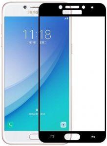 Защитное стекло для Samsung A520 Galaxy A5 (2017) Mocolo (full glue) на весь экран Черное