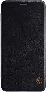 Кожаный чехол (книжка) Nillkin Qin Series для Samsung A750 Galaxy A7 (2018) Черный