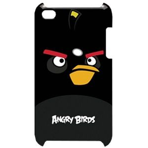 Чехол Angry Birds Protective Case Bomber Black для iPod touch 4G (TCAB404)
