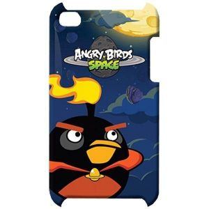 Чехол Angry Birds Protective Case Space Fire Bomber для iPod touch 4G (TCAS405G)