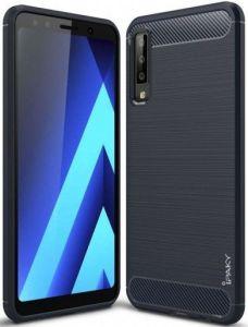 TPU чехол iPaky Slim Series для Samsung A750 Galaxy A7 (2018) Синий