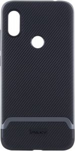 Чехол для Xiaomi Redmi Note 6 Pro iPaky TPU+PC Black/Grey