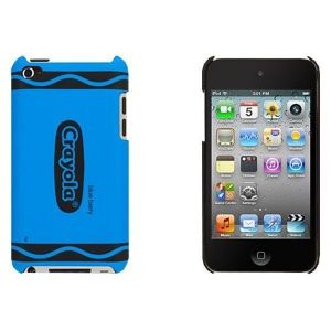 Чехол Griffin Crayon Classics Blue для iPod touch 4G (GB03445)
