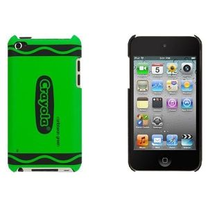 Чехол Griffin Crayon Classics Green для iPod touch 4G (GB03443)