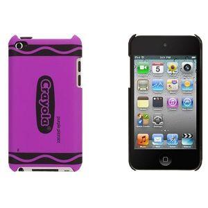 Чехол Griffin Crayon Classics Purple для iPod touch 4G (GB03442)