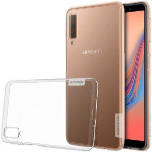 TPU чехол Nillkin Nature Series для Samsung A750 Galaxy A7 (2018) Бесцветный (прозрачный)