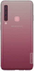 Чехол для Samsung Galaxy A9 (2018) Nillkin Nature Series Серый (прозрачный)