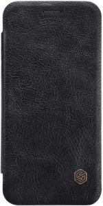 Кожаный чехол для Huawei P20 Lite Nillkin Qin Series Black