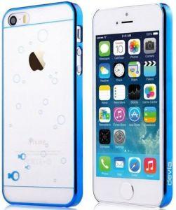 Чехол для iPhone SE и iPhone 5/5S Devia Glimmer Fish Blue