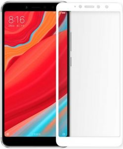 Защитное 3D-стекло для Xiaomi Redmi S2 ZiFriend 5D Full Face (full glue) Белое