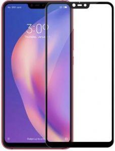 Защитное стекло для Xiaomi Mi 8 Lite / Mi 8 Youth (Mi 8X) Mocolo (full glue) на весь экран Черное