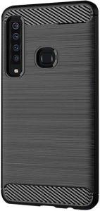 TPU чехол для Samsung Galaxy A9 (2018) iPaky Slim Series Black