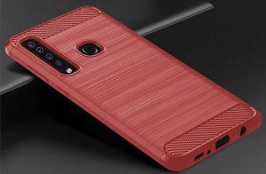 TPU чехол для Samsung Galaxy A9 (2018) iPaky Slim Series Red