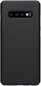 Чехол для Samsung Galaxy S10 (G973) Nillkin Super Frosted Shield Черный