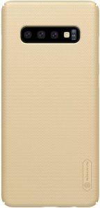 Чехол для Samsung Galaxy S10 Nillkin Super Frosted Shield Gold