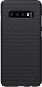 Чехол для Samsung Galaxy S10+ (G975) Nillkin Super Frosted Shield Черный