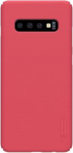 Чехол для Samsung Galaxy S10+ Nillkin Super Frosted Shield Red