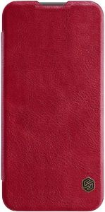 Кожаный чехол для Huawei Honor 10 Lite Nillkin Qin Series Красный