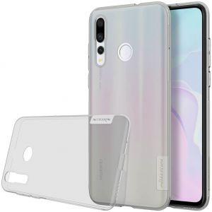 Чехол для Huawei Nova 4 Nillkin Nature Series Серый (прозрачный)