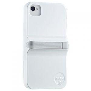 Чехол Ozaki iCoat Finger White/Grey для iPhone 4/4S (IC864WH/GR)