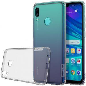 Чехол для Huawei P Smart (2019) Nillkin Nature Series Серый (прозрачный)