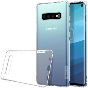 Чехол для Samsung Galaxy S10 (G973) Nillkin Nature Series Бесцветный (прозрачный)