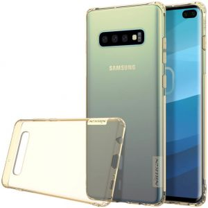 Чехол для Samsung Galaxy S10+ Nillkin Nature Series Gold
