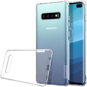 Чехол для Samsung Galaxy S10+ (G975) Nillkin Nature Series Бесцветный (прозрачный)