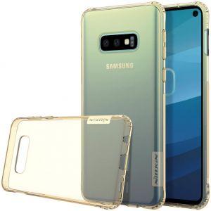 Чехол для Samsung Galaxy S10e Nillkin Nature Series Gold