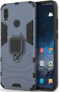 Ударопрочный чехол для Xiaomi Redmi Note 7 / Note 7 Pro / Note 7s Transformer Ring под магнитный держатель Metal Slate