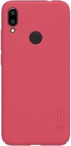Чехол для Xiaomi Redmi Note 7 Nillkin Super Frosted Shield Red