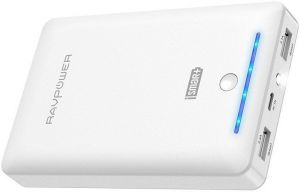 Внешний аккумулятор RavPower Power Bank 16750mAh White (PR-PB19WH)