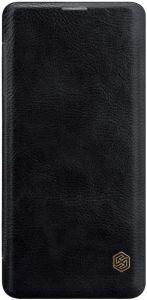 Кожаный чехол для Samsung Galaxy S10 (G973) Nillkin Qin Series Black