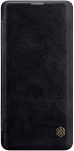 Кожаный чехол для Samsung Galaxy S10 Plus (G975) Nillkin Qin Series Black