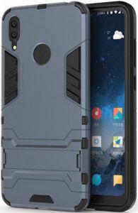 Ударопрочный чехол-подставка для Huawei Y7 (2019)/Huawei Y7 Prime 2019 Transformer с защитой корпуса Metal Slate