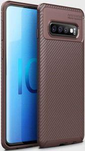 Чехол для Samsung Galaxy S10 Plus (G975) iPaky Kaisy Series Brown
